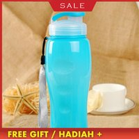 700ml Portable Sports Cups Large Capacity Plastic Outdoor BPA Free Fruit Bicycle Bike My Water Bottle