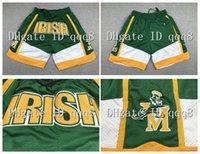 ¡Calidad superior! St Vincent Mary High School Irlandés 23 James Shorts Basketball pantaloncini da cesta deporte pantalones cortos cesta pantalones universitarios bolsillo