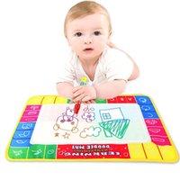 Nuovo 29x19cm Bambini Baby Toy Acqua Disegno Pittura Scrittura Tappetino Tabella Penna Magica Doodle Giocattolo Giocattolo Giocattoli Giocattoli Giocattoli 2021