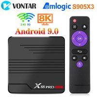 VONTAR X88 PRO Mini TV Box Android 9.0 Amlogic S905X3 4K 60fps Google Player Youtube Media Player 2GB 16GB 4GB 32GB Set Top Box