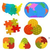 children' s jigsaw puzzle favor Map of the United States...
