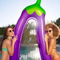220 * 105 * 20cm gonflable géant gonflable piscine de piscine flotteur matelas de bain de soleil de bain de soleil piscine eau plage mat matte jouets flottants flotte Tubes
