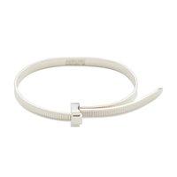 Hinterhalt Hip Hop Einfache Persönlichkeit 925 Sterling Silber Easy Pull Armband Nische Mode Einstellbares persönliches Geschenk für Frauen Freies Schiff