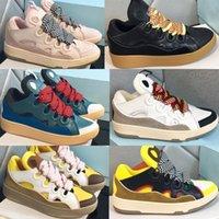 Uomo che corre Parigi US 5-11 Curb BumpR Sneakers in pelle Sneakers Donne Scarpe Bur House Chaussures De Designer Sport Mocassini Lanviin Piattaforma Casual