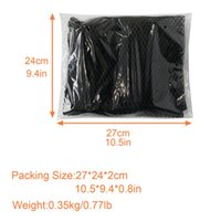 Car Organizer Mesh Storage Bag Roof Ceiling Double-headed Zipper Hanging Luggage