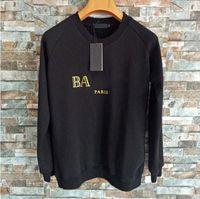 Luxus Designer Hoodies Sweatshirt Männer Frauen Baumwollpullover Hoodie Mode Langarm Paris Gedruckt Pullover Rundhalsausschnitt Hip Hop Streetwear Sweatershirt