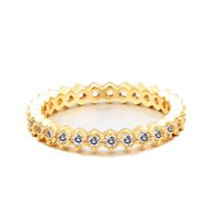 VAROLE Basic Rings For Women With Sparkle Cubic Zirconia Gold Color Wedding Ring Fashion Jewelry Gifts Bague Anillo Jewellery