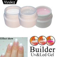 Nail Gel 8g Extension Quick Building No Paper Holder Crystal 3 Color Lasting Polish Acrylic Art
