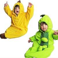 البازلاء الموز الأطفال أكياس النوم الصوف الطفل التفاف المغلف الفراش البطانيات قماط الطفل cocoon tipi 210413