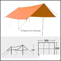 Tents Hiking Sports & Outdoorstents And Shelters Beach Tent Super Rainproof Sunscreen Parking Shed Cam Light Field Canopy Pergola Travel Fam