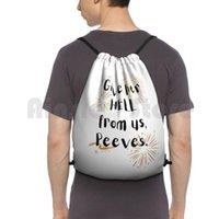 أعطها الجحيم منا، بيفز. حقيبة الظهر الرباط حقيبة ركوب تسلق الصالة الرياضية Peeves Weasleys Fred George