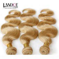 Color 613 # Blonde Blonde Eurasian Body Wave Virgin Hair Hair Eurasian Human Haavy Weave Bundles Soft Tangle Tangle Free Hair Extensions