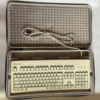 Keyboards Portable Case For CHERRY G80-3000 3494 3000S TKL Mechanical Keyboard Hard Shell Shockproof Compressive Elastic Sponge Zip Bag