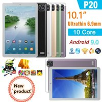Tablet PC 2021 Android 9.0 Brand Design 10.1 Inch 6GB+128GB Google Play Quad Core 4G Phone WiFi GPS