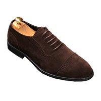 2021 New Streets Fashion trendsetter designer Men British lace-up Shoes Luxury Flat Walking Shoe Dress Party Wedding Shoes size 3
