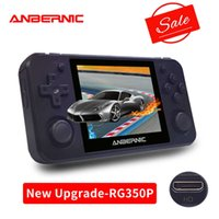 ANBERNIC RG350P Retro game Upgrade version 64Bit Emulator video game consoles handheld game players RG350P PS1 RG350 HDMI-compat G0925