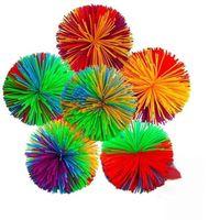 6 см 7см Koosh Ball Sensosory Hidge игрушки Toys Elsely Silicone POM DNA Цветные тесто Шарики Squish Стрельсина Аутизм Adhd Active Person Squeeze Toy H48CCKU