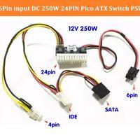 Electronic Accessories PCI-E 6pin Input DC-ATX-250W 24pin Powers Supply Module Swithc Pico PSU Car Auto Mini ITX High DC-ATX power
