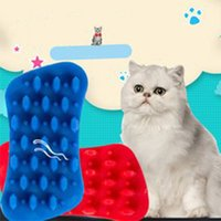 Productos para mascotas Cat and Dog Silicone Pein Pein Mascotas Suministros Peine Massage Beauty Cleaner Combs Long Short Hairs