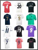 2016 2017 2018 2019 2020 2021 레알 마드리드 축구 유니폼 레트로 호나우두 벤츠마 축구 셔츠 16 17 18 19 20 22 James Camiseta de Fútbol Sergio Ramos Bale