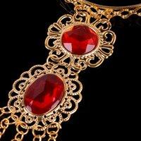 Charm Bracelets 1pc Women's Girl's Belly Dance Dancing Finger Thai Golden Jewelry