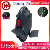 2021 GOTWAY TESLA V3 Neueste Neue Aktualisierung Anti-Spin Bluetooth-Lautsprecher 1500WH 2000W Unicycle Ein Rad Elektrische Monowheel