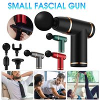 Mini Fascial Gun Portable Light 8 Level USB Charging Vibrator Electric Muscle Massager for Neck Body Foot Face Arm Head Massager