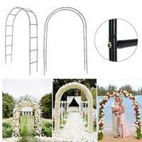 Iron Wedding Arch Decorative Garden Backdrop Pergola Stand Flower Frame For Marriage Birthday Party Decoration DIY