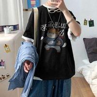 Camisas de polo camiseta corta tamaño de gran tamaño de verano de algodón suelto de la marca de la marca de la marca de la marca del estudiante de la camisa de media manga