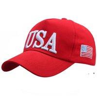 2024 Trump Baseballkappe Hüte USA Präsidentschaftswahl Party Hut mit amerikanischen Flagge Caps Baumwolle Sport Sports Für Männer Frauen Einstellbar FWA7019