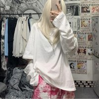 Separate Sleeve Spring Long T Shirt For Women Ladies Harajuku Ulzzang Tshirt Korean Style Loose Tee Tops Kawaii Clothes Women's T-Shirt