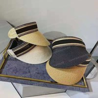 مصمم كاب دلو قبعة الأزياء casquette الرجال النساء الفاخرة القبعات المجهزة عالية الجودة قبعات الشمس القش