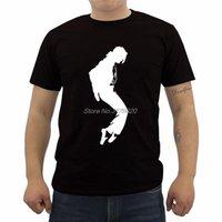Streetwear Michael Jackson Print T 셔츠 남성용 O 넥 짧은 소매 코튼 옴므 프라이머 티셔츠 힙합 티즈 탑스 남성용
