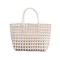 HBP Women Open Handbags Straw Weave Handbags Basket Crocher Single Shouler Bag Ladies Tote Bag Large Size Package shopping bag