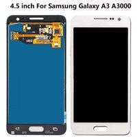 Dla Samsung Galaxy A3 Panele dotykowe używane do naprawy wyświetlania telefonu Wielokrotność opcji jakości A300 A3000 Digitizer Montaż LCD Ekran LCD