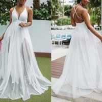 Casual Dresses White Dress Sexy Femalewrap Halter Green Solid Color Party Cross Back Female Deep V-Neck 2021 Night Long