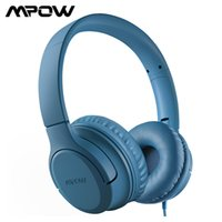 Mpow CHE2 Kids Children Wired Headphones Stereo Sound Over-ear Headset Lightweight Foldable Headset for Tablets PC Online Class