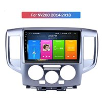 Stereo Android Radio Autoradio 2 Din with Camera Video Mp5 Car Dvd Player for NISSAN NV200 2014-2018