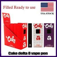 Torta precompilata Delta 8 D8 monouso e sigarette dispositivo full gram (1ml) Capacità riempita Pod Pod POD PEN PEN PEN PEN PEN DA PAN 280MAH Batteria olio spessa