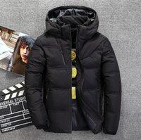North the Winter Abbigliamento Abbigliamento Uomo Down Giacche Parkas Tenere caldo Cappotto Cappotto Di Softshell Cappelli Thick Capispalla Outdoor Abbigliamento da uomo Giacca da uomo