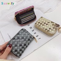 Wallets Luxury Designer Wallet Pattern Mini Purse Men Women Cards Holder Pu Leather Fashion Small Pounch Classic Coin Bags