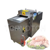 Meat Cutter Chopping Chicken Nugget Machine Kitchen For Canteen Hotel Flesh Processing Slicer