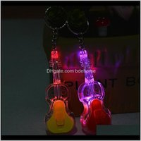 Rings Factory Direct Selling Activities Qin Line Training Promotional Gifts Led Violin Key Chain Qnvak Yp3Nr