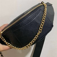 Diamant Gitter Designer FannyPack Geldbörse für Frauen Taille Tasche Crossbody Bags Womens Mens Bumbback Fanny Pack