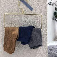 Sos - Draw a bright silk   socks Spring striped solid sos for children