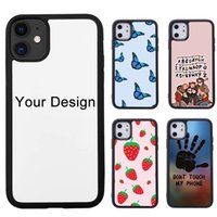 Sublimation Cases DIY Customize Plastic TPU Designer Cell Phone Case for iPhone 13 12 Pro Max Mini 11 X XS XR 6S 7 8 Plus with Aluminum Inserts