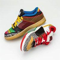 2021 حجية dunk sb ما هو رجل رود رجل كرة السلة الأحذية CZ2239-600 مختلط الألوان 3 متر رياضة رياضية عاكسة مع المربع الأصلي