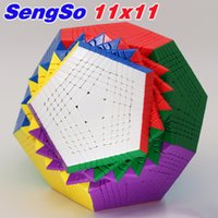 Magic Cube Puzzle Sengso Megaminxeds Dodecahedron 12 Faces De Alto Nível Cubos Profissional