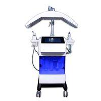 Hydro Sauerstoffstrahl MicroDermabrasion Eceptment Skin Tiefreinigung RF Wäscher Gesichtslift Wrinkel Entfernen Akne Entfernen Maschine