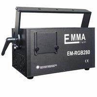 1.5W-5W RGB Animation Modulación analógica Láser Show / DMX, RDA DISCO Etapa Light Proyector